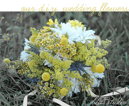 D.I.Y. wedding flowers
