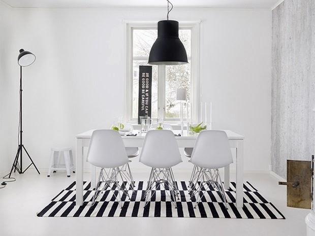 Decoraci n f cil estilo nordico blanco y negro low cost for Arredamento nordico low cost