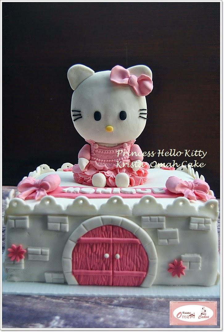 KRISTA MOCAF KITCHEN: Princess Hello Kitty - Birthday Cake