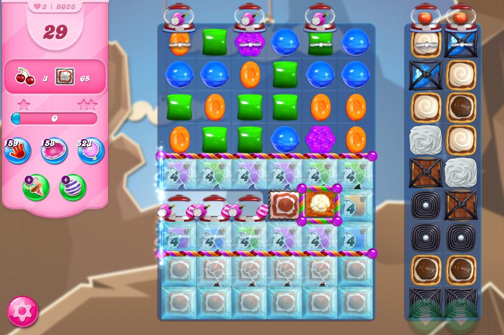 Candy Crush Saga level 6026