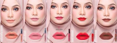 Amoura Lipsticks