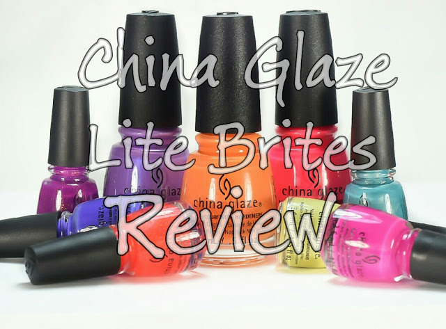 china glaze lite brites