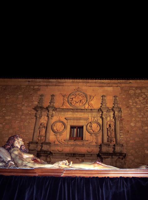 Cristo de la Liberación frente Fonseca