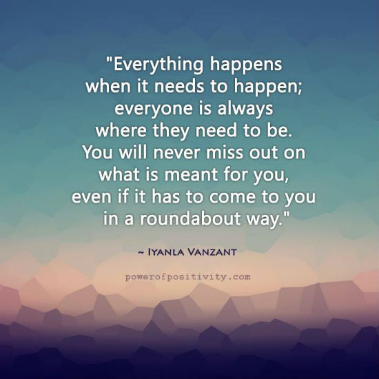 Iyanla Vanzant Quotes Everything happens when it needs to happen   Iyanla Vanzant Quote  Iyanla Vanzant Quotes