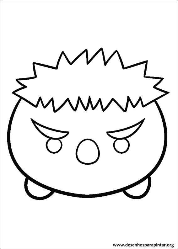 Coloring pages for kids free images: Disney Tsum Tsum free ...