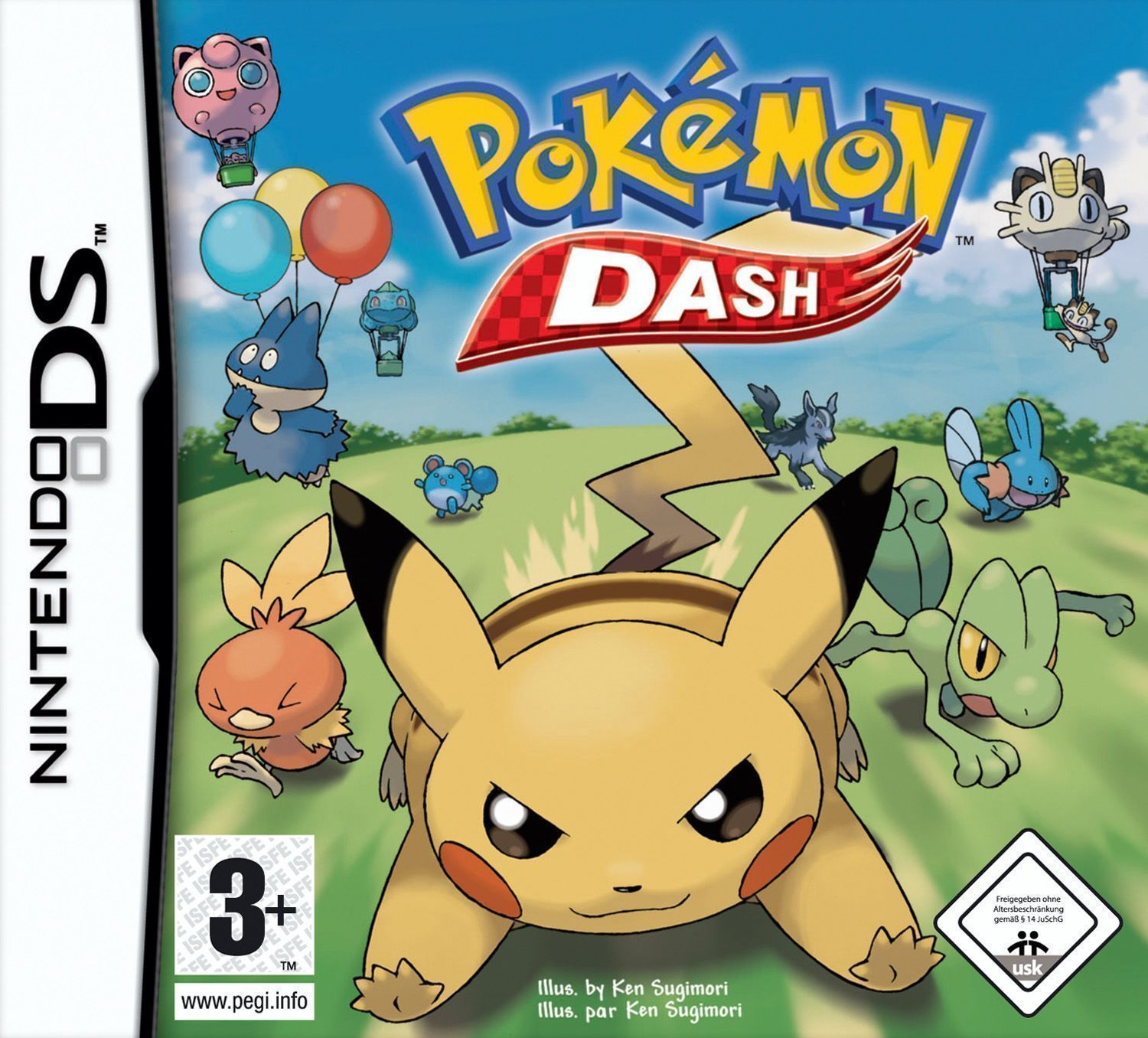 ROMs - Pokemon Dash  - NDS Download