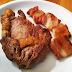 Filé de costela + bacon