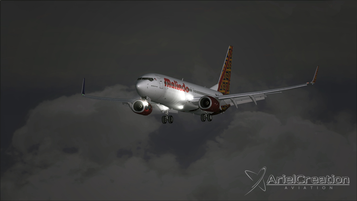 PMDG 737-800NGX Malindo Batik Air 9M-LCC Livery FSX ...