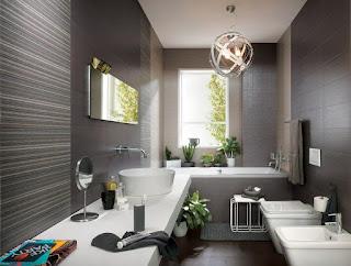 moderno baño elegante