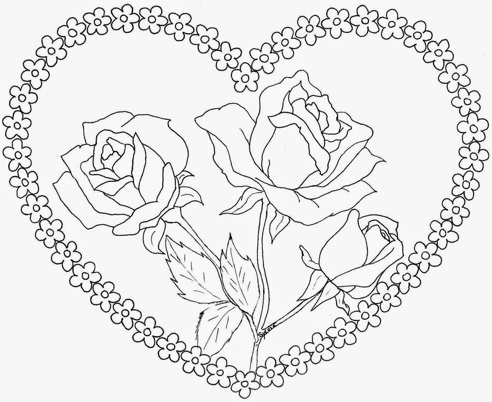 Baú Da Web: Cartão Dia Das Mães, Coração Para Imprimir Colorir