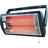 Ceiling-Mounted Garage/Workshop Heater with Halogen Light