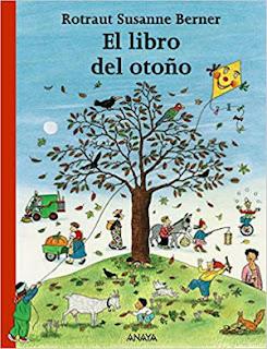 Cuentos libros infantiles sobre la estación del otoño, el libro del otoño Rotraut berner