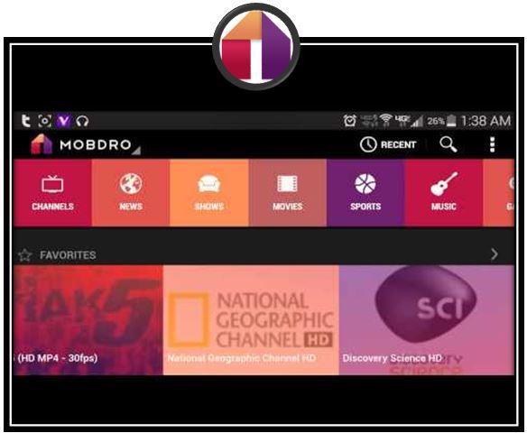 تحميل تطبيق mobdro لمشاهدة القنوات الفضائية والقنوات المشفرة للايفون