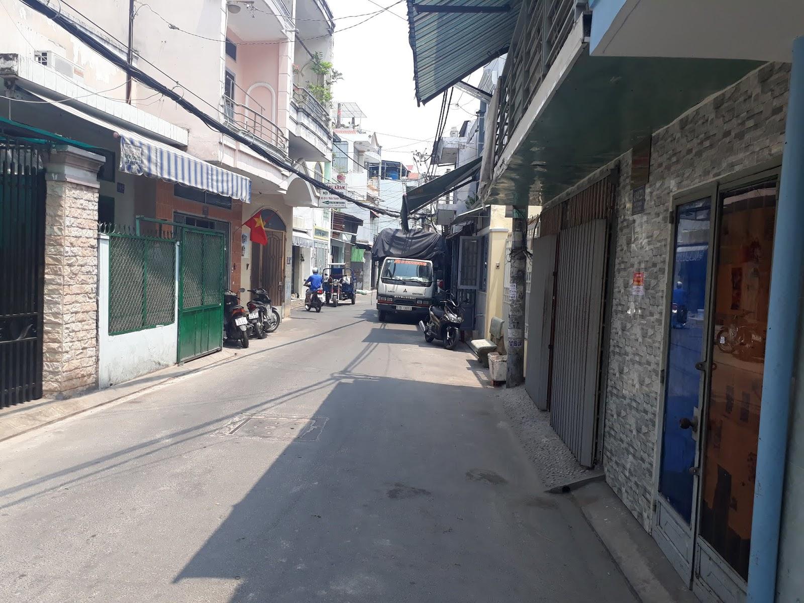 Bán nhà hẻm 8m đường Phú Thọ Hòa quận Tân Phú giá rẻ