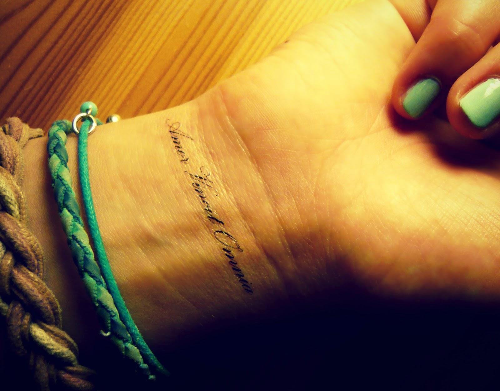 immer und ewig tattoo
