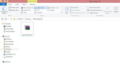 Cara Mudah Mengganti Ekstensi File Di Windows 8.1