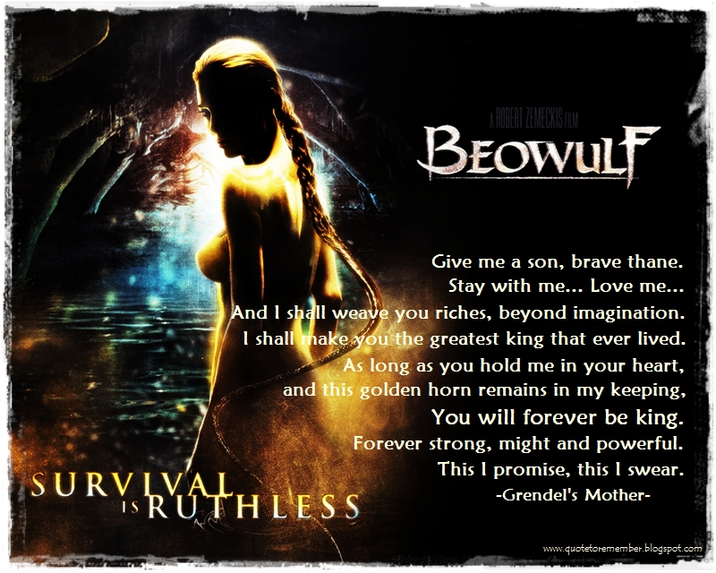 theme essays beowulf