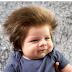 Conheça Cox-Noon o bebê cabeludo