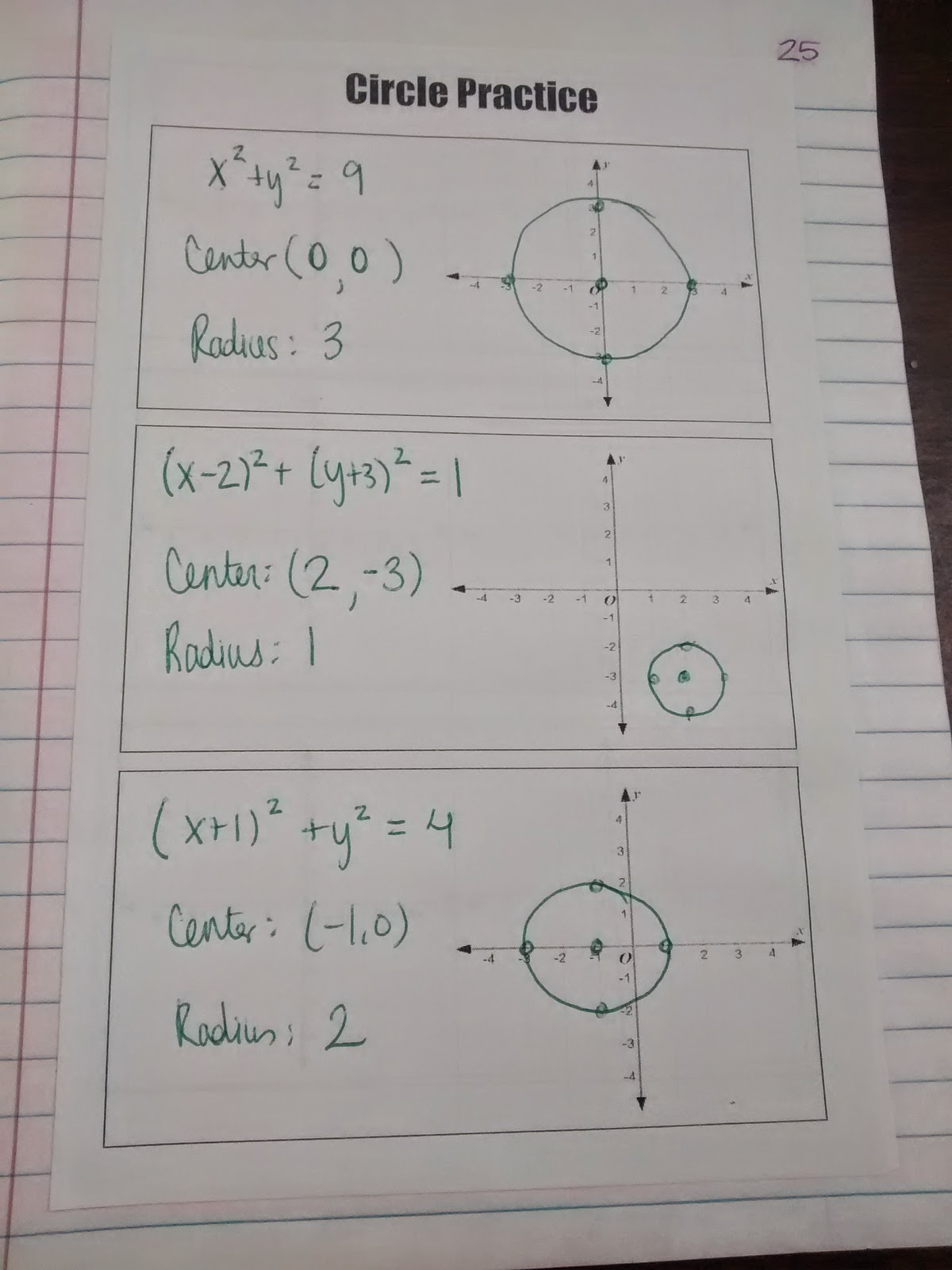Math Love Algebra 2 Unit 1 Inb Pages