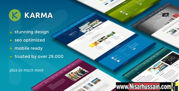 Karma Responsive WordPress Premium Theme