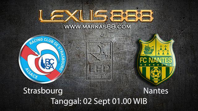 Prediksi Bola Jitu Strasbourg vs Nantes 2 September 2018 ( French Ligue 1 )