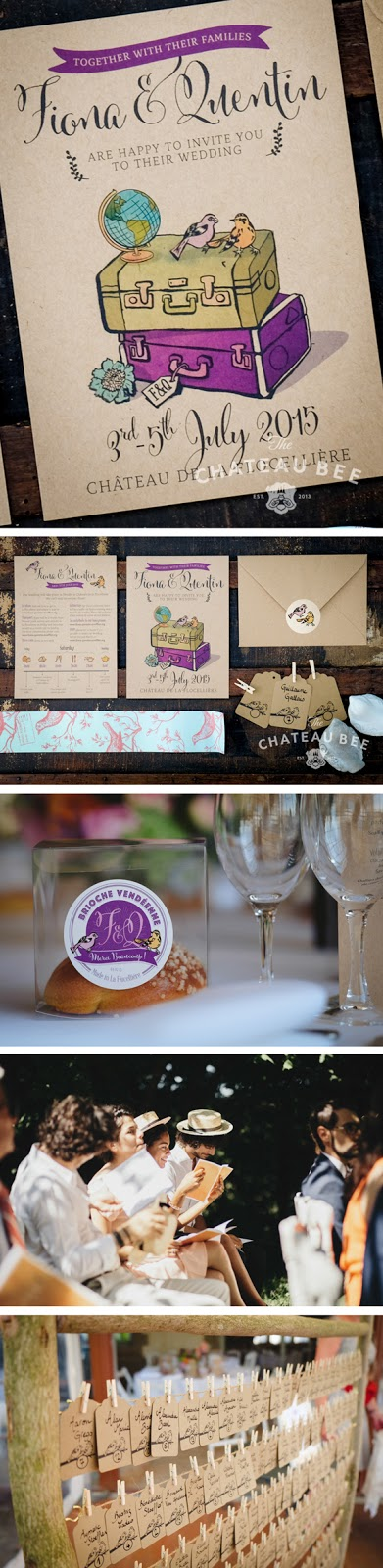 Wedding invites France