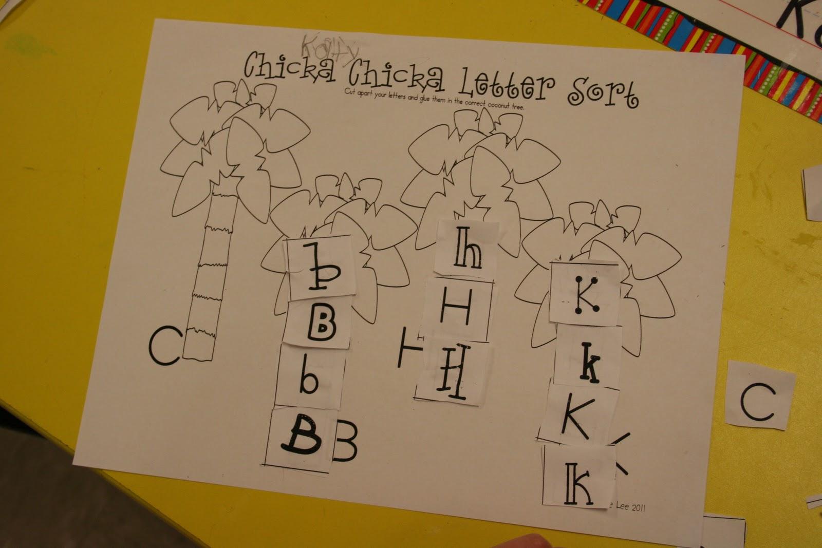 Mrs. Lee's Kindergarten: Chicka Chicka Boom Boom - photo#43