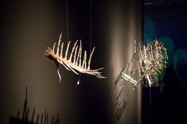 """Objeto na exposição """"Irmão Campanha"""" no Museu Oscar Niemeyer"""