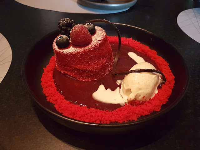 Choco Berry Volcano - B+F Open Flame Kitchen, 360 Mall, Kuwait