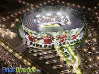 email divertido rir humor lol mundial qatar 2022 estádio