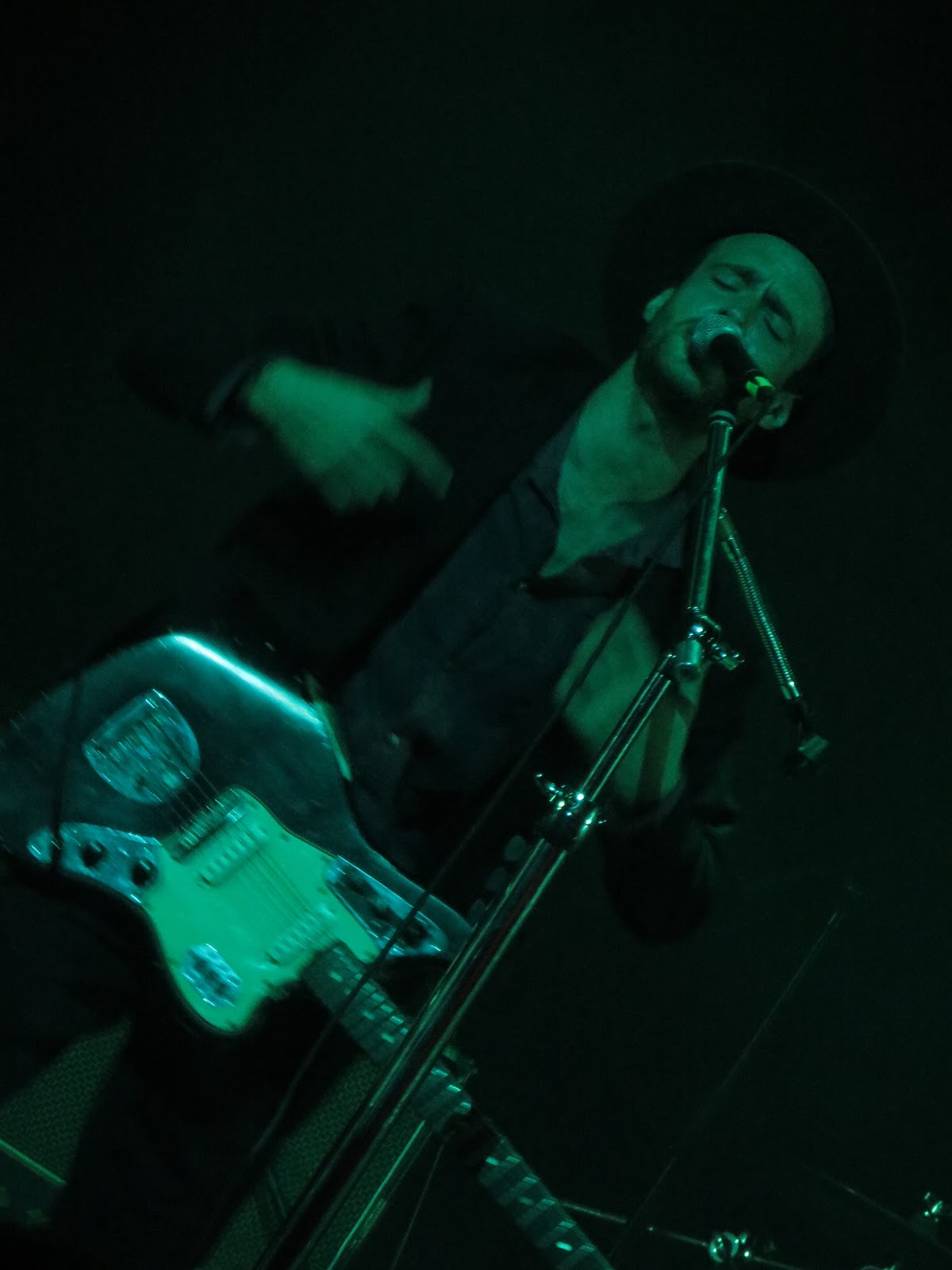 ronald says memoirs of a music addict on stage the veils
