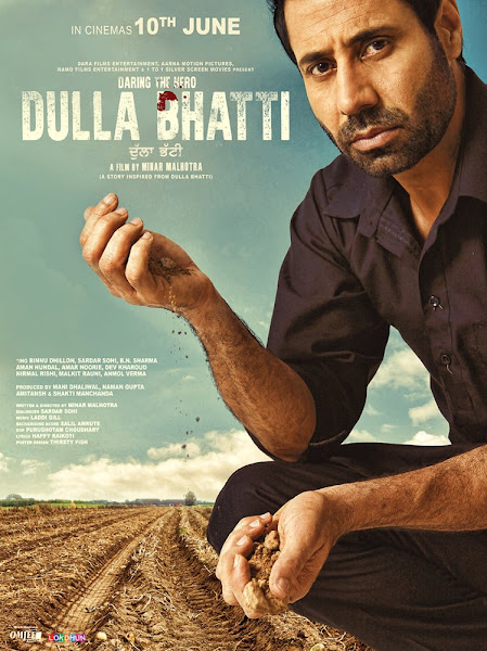 Poster of Dulla Bhatti 2016 720p Punjabi HDRip Full Movie Download