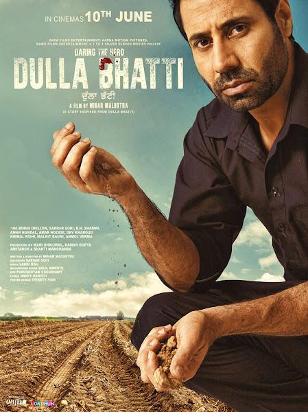 Poster Of Dulla Bhatti 2016 720p Punjabi HDRip Full Movie Download