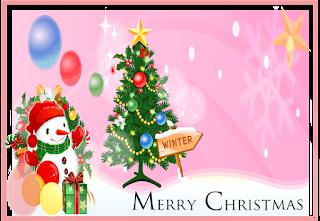 Kartu ucapan natal 2017