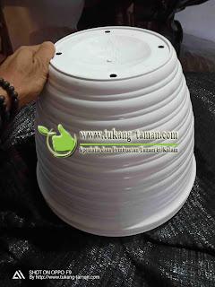 Pot Sarang Tawon, Pot Plastik