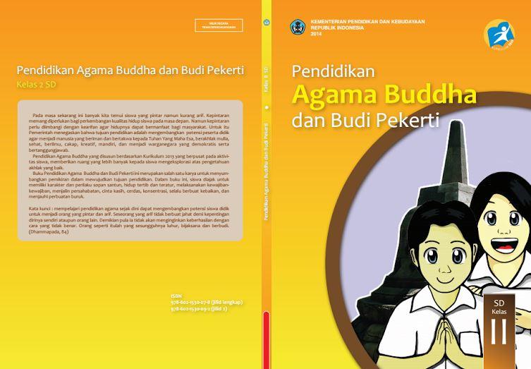 Download Gratis Buku Guru dan Buku Siswa Pendidikan Agama Budha dan Budi Pekerti SD Kelas 2 Kurikulum 2013 Format PDF