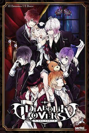 Diabolik Lovers - 1ª Temporada Desenhos Torrent Download capa
