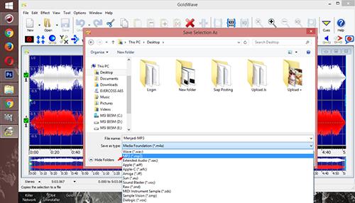 Cara Mengubah File Video Menjadi File MP3 Dengan Gold Wave 3
