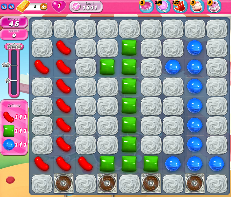 Candy Crush Saga 1641