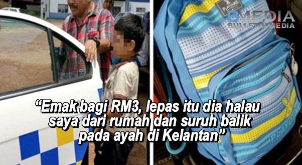 """""""Emak bagi RM3, lepas itu dia halau saya dari rumah dan suruh balik pada ayah di Kelantan"""