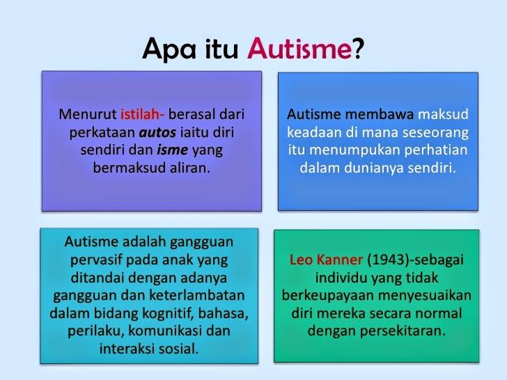 Apa itu Autisme