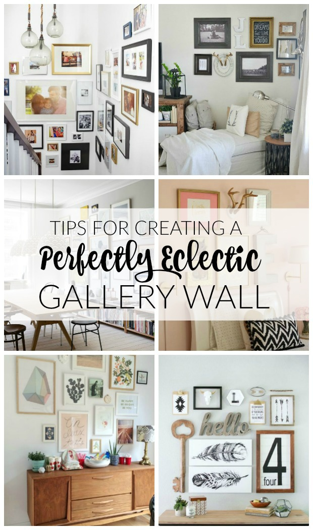 Tips for Creating a Perfect Eclectic Gallery Wall