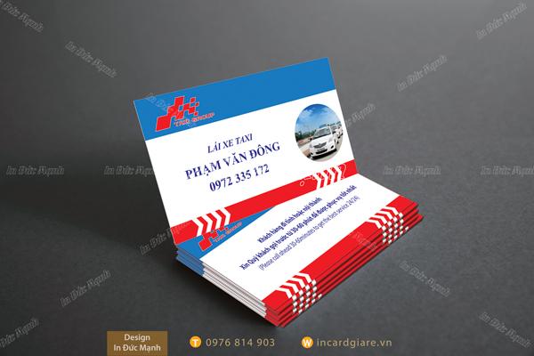Thẻ đón khách của Tập đoàn Taxi