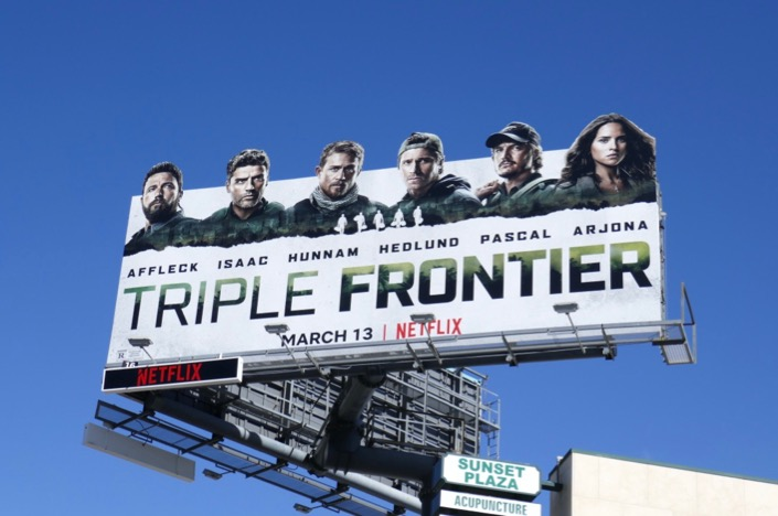 Triple Frontier extension billboard