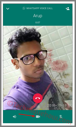voice to video call
