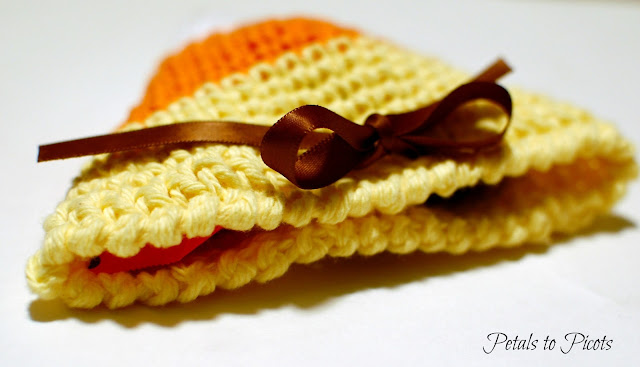 candy corn crochet pattern