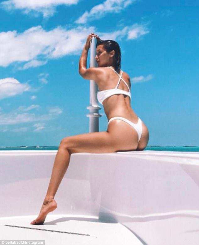 Kendall Jenner And Bella Hadid Flaunts Their Booty In Sexy Bikini