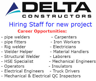 $50/hr, Per Diem & Housing:280 Positions to Filled to at New project