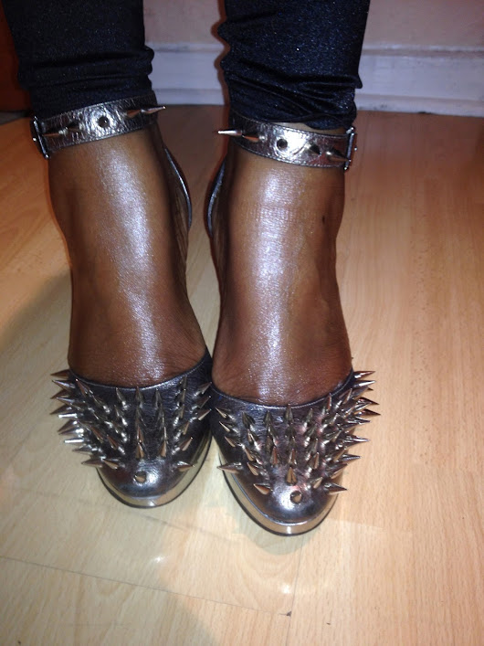 DIY Shoe #2 Spikes | BisaNation
