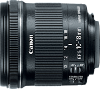 Canon EF-S 10-18mm IS STM Lens : Different Focal Lengths